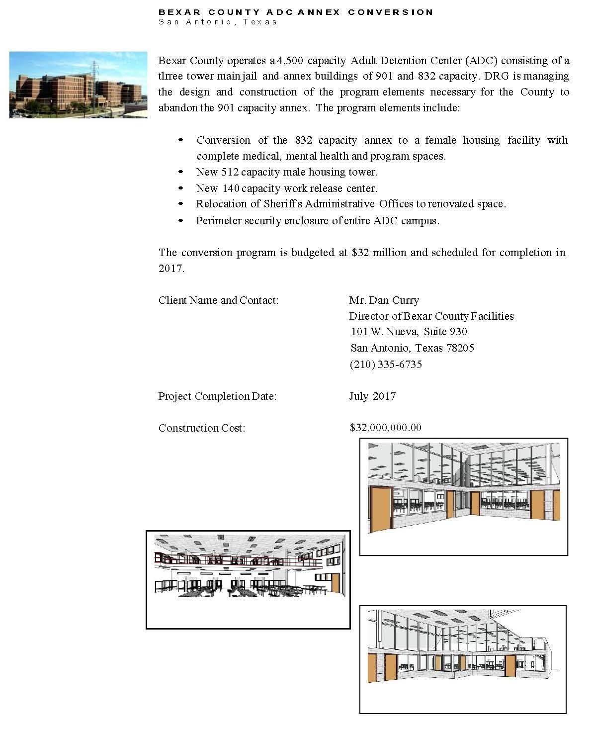 Corrections Architecture | Gallery - San Antonio, TX